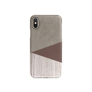 Brown Granite Snap iPhone Case - bycsera