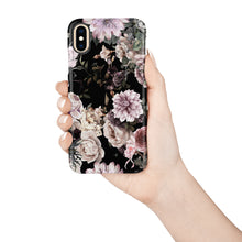 Load image into Gallery viewer, Dark Floral Snap iPhone Case,CSERA
