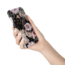 Load image into Gallery viewer, Dark Floral Snap iPhone Case