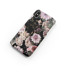 Load image into Gallery viewer, Dark Floral Snap iPhone Case - bycsera