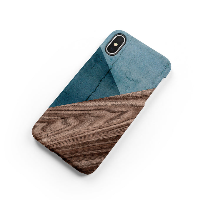 Denim Blue Snap iPhone Case,CSERA