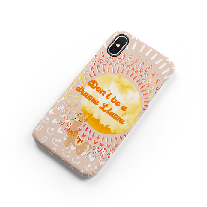 Drama Llama Snap iPhone Case