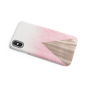 Carnation Pink Snap iPhone Case