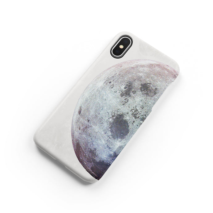 Waning Moon Snap iPhone Case - bycsera