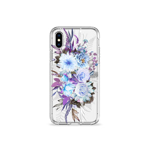 Lilac Lavenders Clear iPhone Case,CSERA