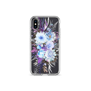Lilac Lavenders Clear iPhone Case - bycsera