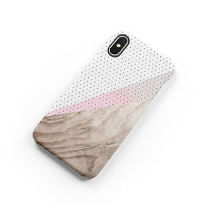 Lines and Dots Snap iPhone Case - bycsera