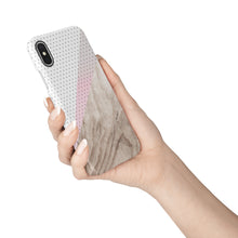 Load image into Gallery viewer, Lines and Dots Snap iPhone Case - bycsera