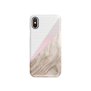 Lines and Dots Snap iPhone Case,CSERA