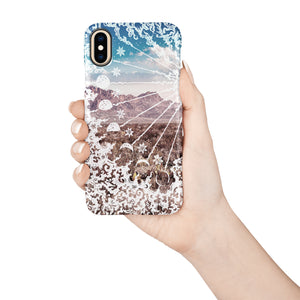 Lunar Canyon Snap iPhone Case