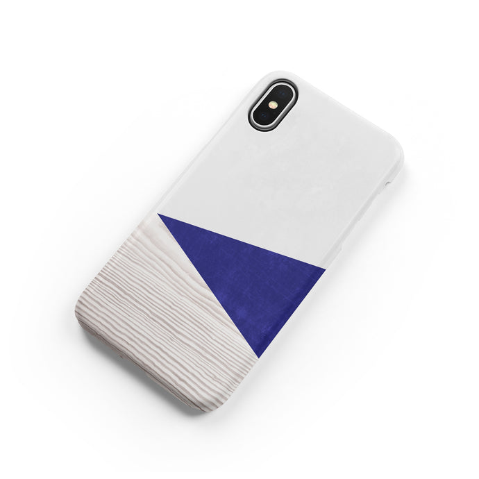 Royal Blue Snap iPhone Case,CSERA