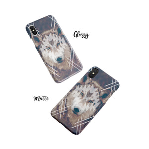Dire wolf Snap iPhone Case - bycsera