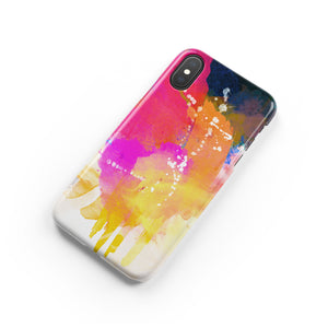 Abstract Snap iPhone Case