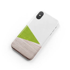 Pear Green Snap iPhone Case,CSERA