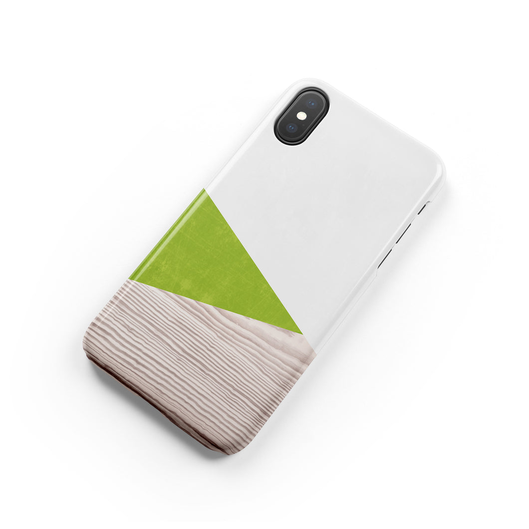 Pear Green Snap iPhone Case