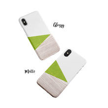 Load image into Gallery viewer, Pear Green Snap iPhone Case