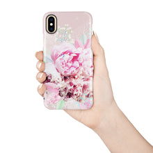Load image into Gallery viewer, Peony Love Snap iPhone Case - bycsera