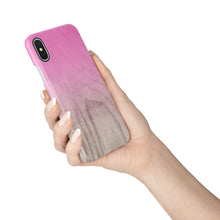 Load image into Gallery viewer, Pink Peacock Snap iPhone Case,CSERA