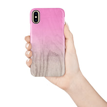 Load image into Gallery viewer, Pink Peacock Snap iPhone Case