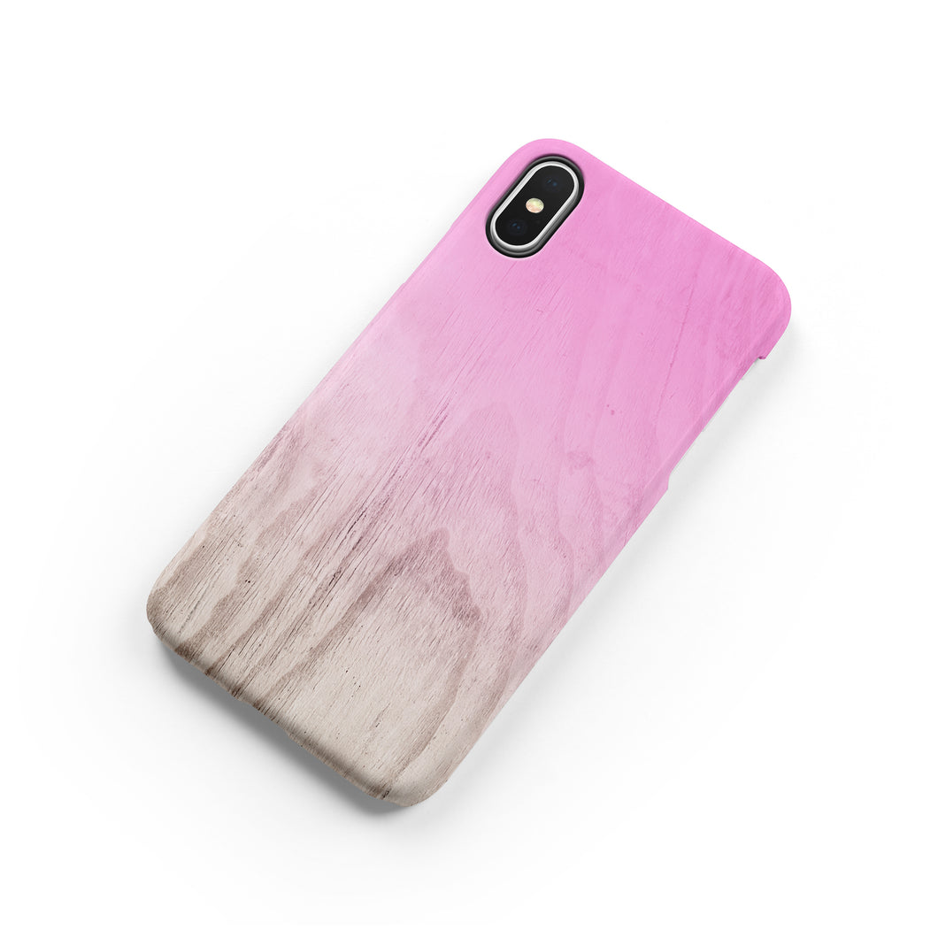 Pink Peacock Snap iPhone Case