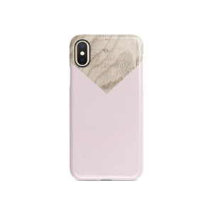 Powdery Ballet Pink Snap iPhone Case,CSERA