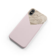 Load image into Gallery viewer, Powdery Ballet Pink Snap iPhone Case