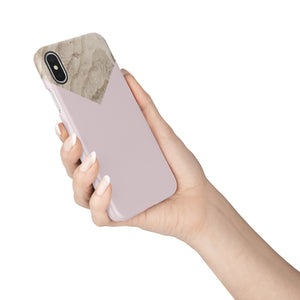 Powdery Ballet Pink Snap iPhone Case - bycsera