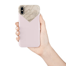 Load image into Gallery viewer, Powdery Ballet Pink Snap iPhone Case - bycsera