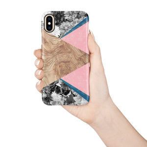 Pressed Rose Snap iPhone Case - bycsera