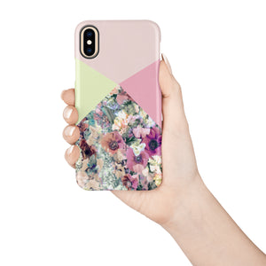 Coral Poppy Snap iPhone Case - bycsera