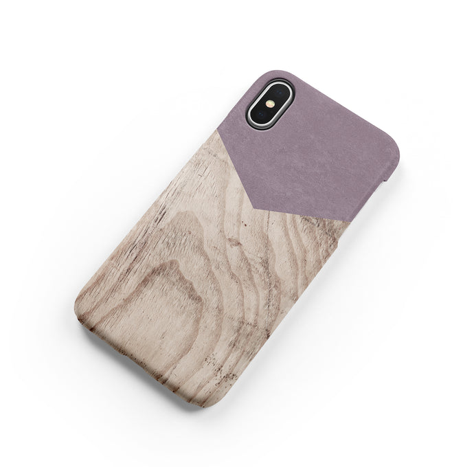 Wisteria Wood Snap iPhone Case - bycsera