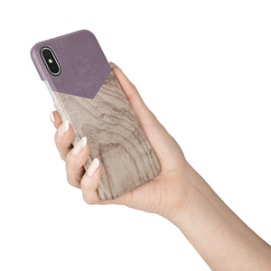 Wisteria Wood Snap iPhone Case,CSERA