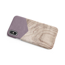 Load image into Gallery viewer, Wisteria Wood Snap iPhone Case,CSERA