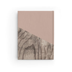 Tan Wood Journal - Blank,CSERA