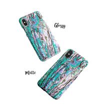 Load image into Gallery viewer, Abalone Shell Snap iPhone Case