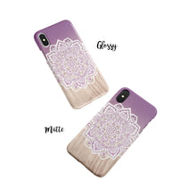 Load image into Gallery viewer, Amparo Purple Snap iPhone Case,CSERA