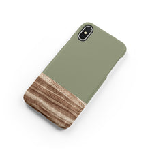 Load image into Gallery viewer, Army Green Snap iPhone Case,CSERA
