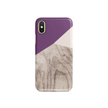 Load image into Gallery viewer, Aubergine Snap iPhone Case