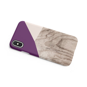 Aubergine Snap iPhone Case