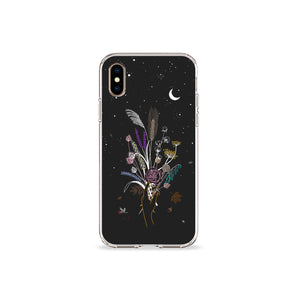 Autumn Pampas Clear iPhone Case,CSERA