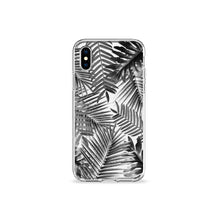 Load image into Gallery viewer, Silver Palms Clear iPhone Case - bycsera