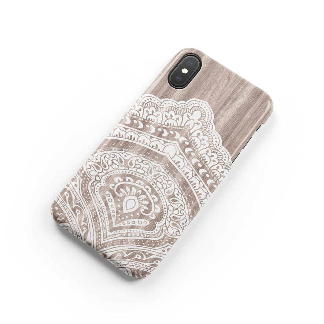 Bali Wood Snap iPhone Case