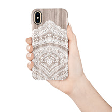 Load image into Gallery viewer, Bali Wood Snap iPhone Case