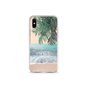 Beach Clear iPhone Case - bycsera