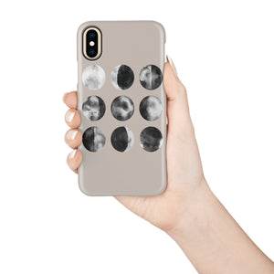 Watercolor Moon Snap iPhone Case,CSERA