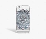 Black Pink and White Mandala iPhone 8 Case-Bycsera