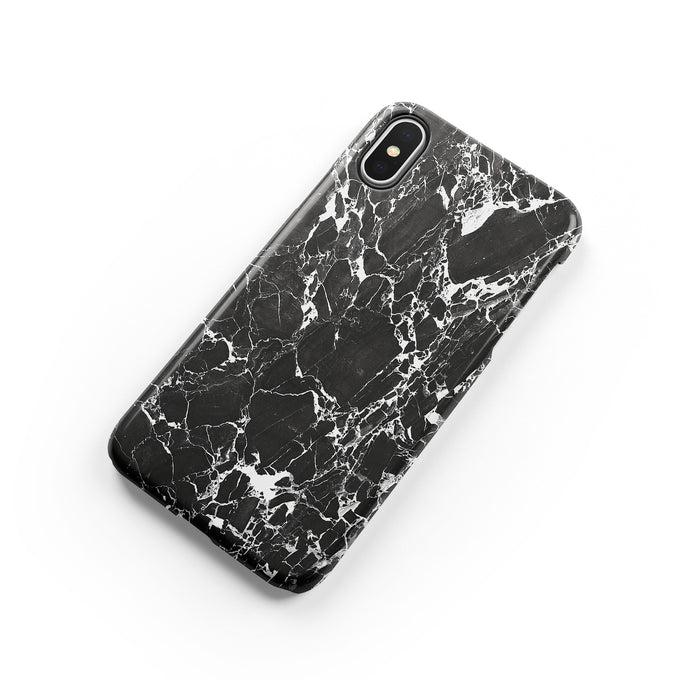Shadow Black iPhone Snap Case - bycsera
