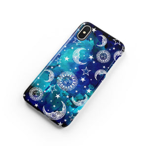 Starry Night Snap iPhone Case - bycsera