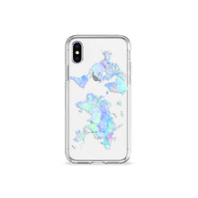 Load image into Gallery viewer, Big Blue Marble Clear iPhone Case,CSERA