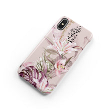 Load image into Gallery viewer, Leopard Lily Snap iPhone Case - bycsera